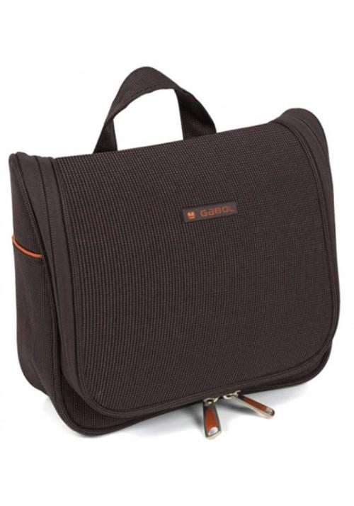 Коричневая сумка для косметики Gabol Vegas Cosmetic 4L Brown