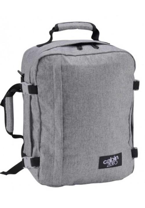 Серая сумка-рюкзак Cabin Zero Classic 28L Ice Grey