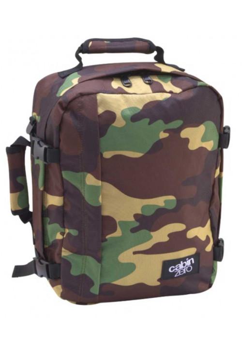 Сумка-рюкзак цвета хаки Cabin Zero Classic 28L Jungle Camo