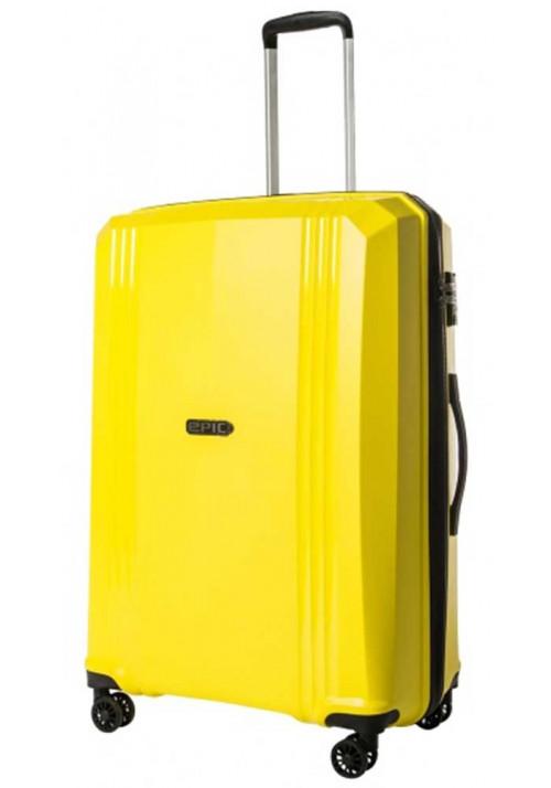 Желтый чемодан на колесах Epic Airwave VTT SL L Blazing Yellow