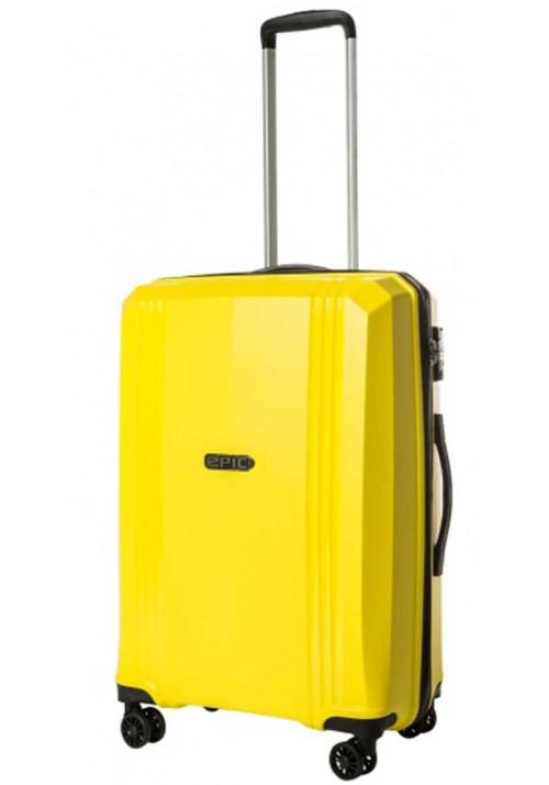 Чемодан на колесах с жестким каркасом Epic Airwave VTT SL M Blazing Yellow