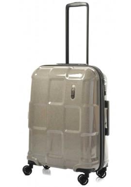 Блестящий чемодан на колесах Epic Crate Reflex М Sparkling Champagne