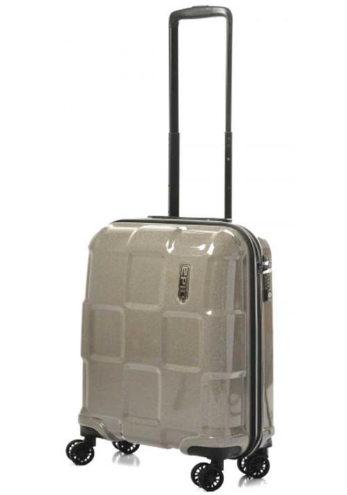 Эффектный чемодан на колесах Epic Crate Reflex S Sparkling Champagne
