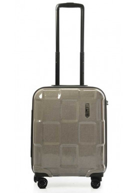 Фото Эффектный чемодан на колесах Epic Crate Reflex S Sparkling Champagne