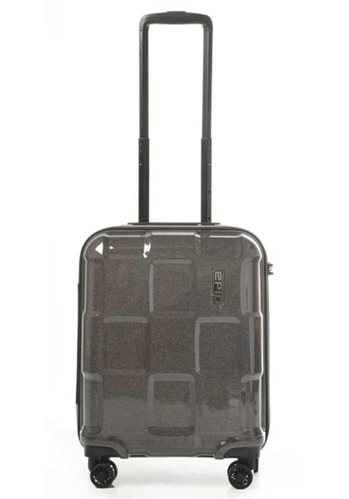 Мини-чемодан на колесах Epic Crate Reflex S Charcoal Black