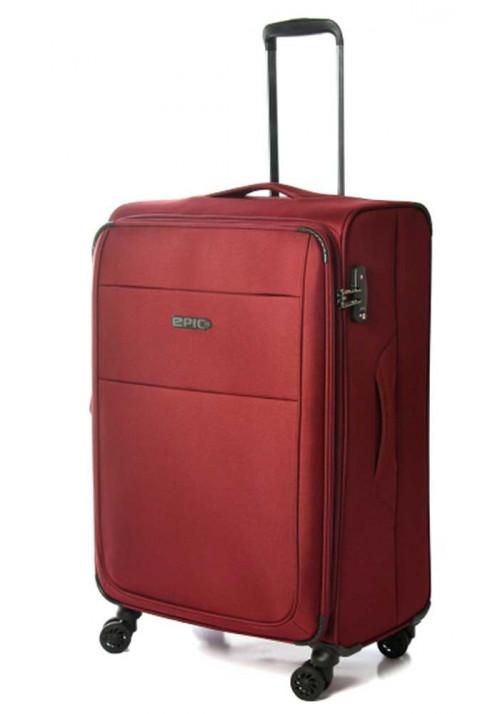 Бордовый чемодан на колесах Epic Discovery Ultra 4X L Burgundy Red