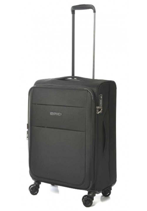 Небольшой чемодан на колесах Epic Discovery Ultra 4X M Black