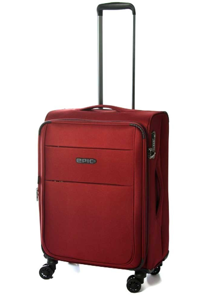 Фото Темно-красный чемодан на колесах Epic Discovery Ultra 4X M M) Burgundy Red