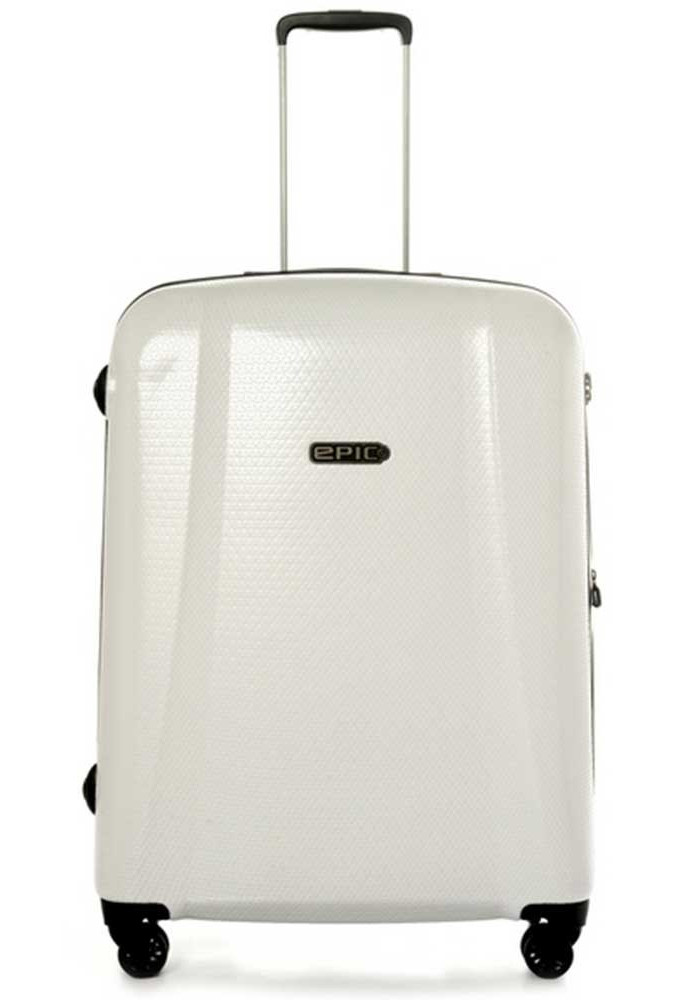 Белый чемодан на колесах Epic GTO 4.0 L Sterling White
