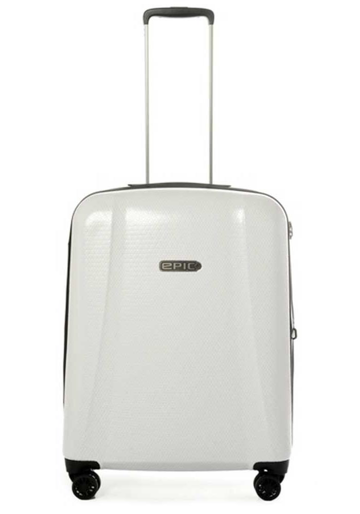 Фото Белоснежный чемодан на колесах Epic GTO 4.0 M Sterling White