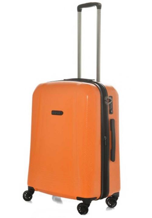 Оранжевый чемодан на колесах Epic GTO 4.0 M Firesand Orange