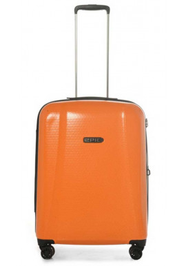 Фото Оранжевый чемодан на колесах Epic GTO 4.0 M Firesand Orange