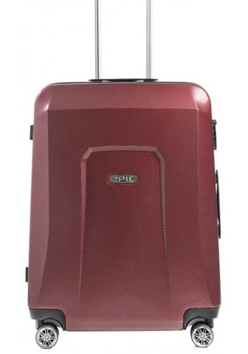Чемодан с колесами Epic HDX L Burgundy Red