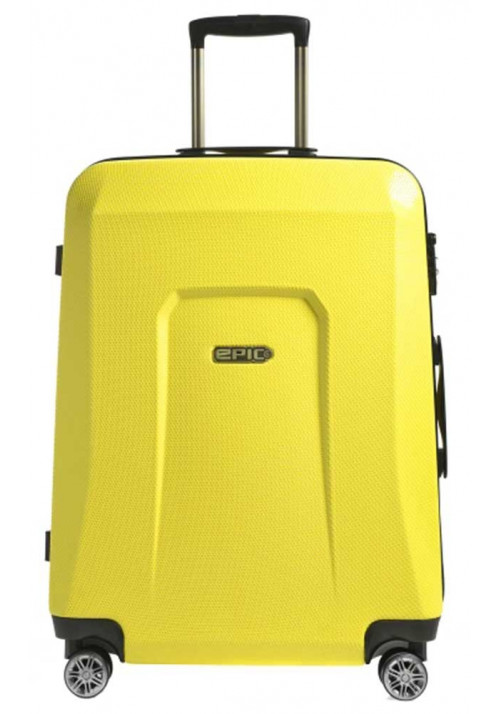 Чемодан с колесами Epic HDX L Yellow Glow
