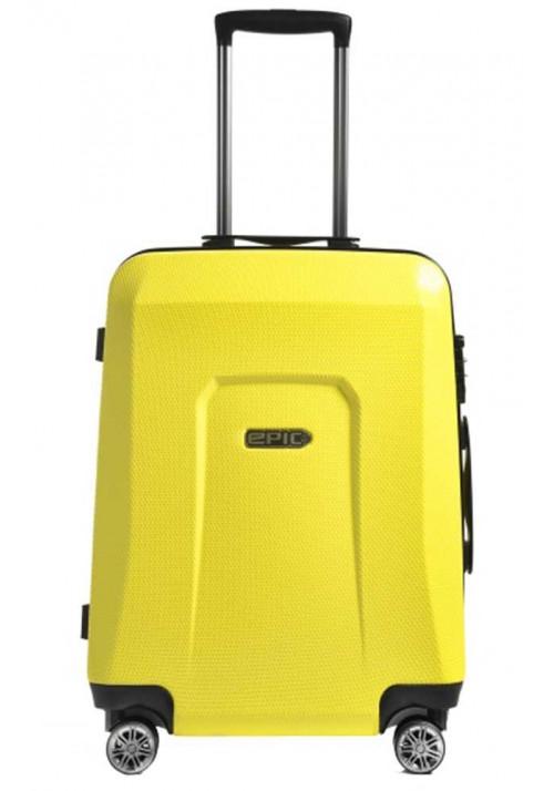 Желтый чемодан с колесами Epic HDX M Yellow Glow