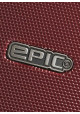 Стильный чемоданчик с колесами Epic HDX S Burgundy Red, фото №10 - интернет магазин stunner.com.ua