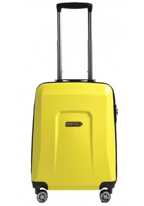 Модный чемоданчик с колесами Epic HDX S Yellow Glow
