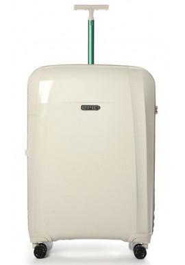 Стильный чемодан на колесах Epic Phantom BIO L Natural White