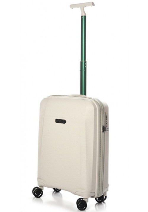 Миниатюрный чемодан на колесах Epic Phantom BIO S Natural White