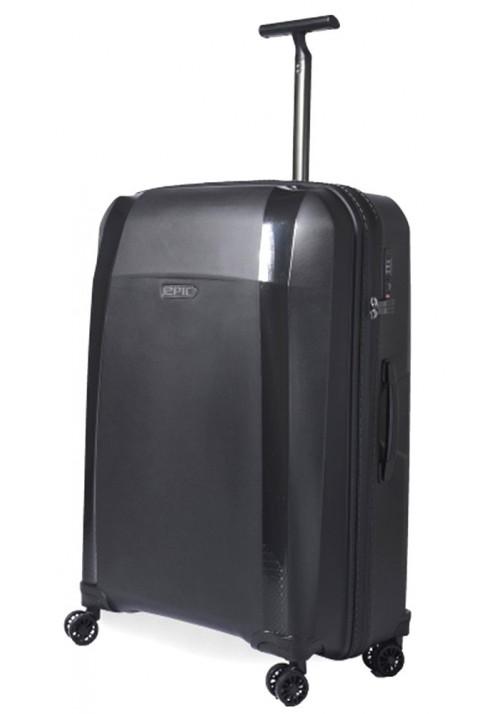 Черный чемодан на колесах Epic Phantom SL L Phantom Black