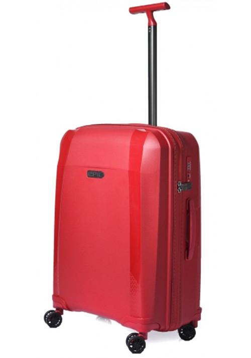 Багажный чемодан на колесах Epic Phantom SL M Chili Pepper