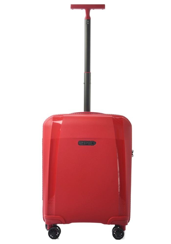 Компактный чемодан с колесами Epic Phantom SL S Chili Pepper
