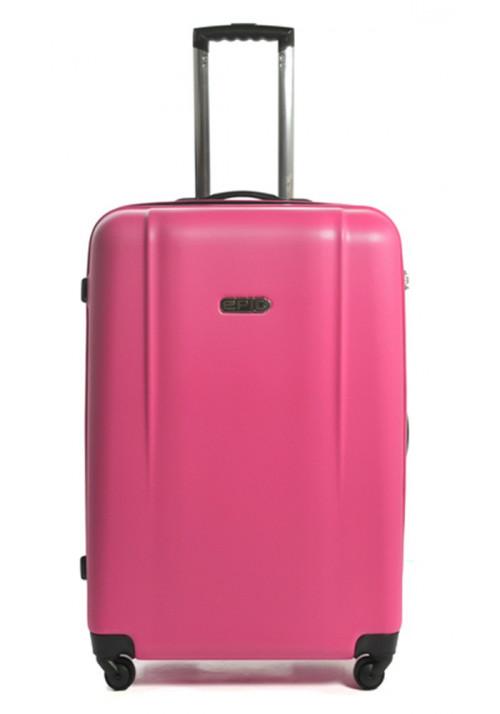 Розовый чемодан с колесами Epic POP 4X IV L Pink Peacock