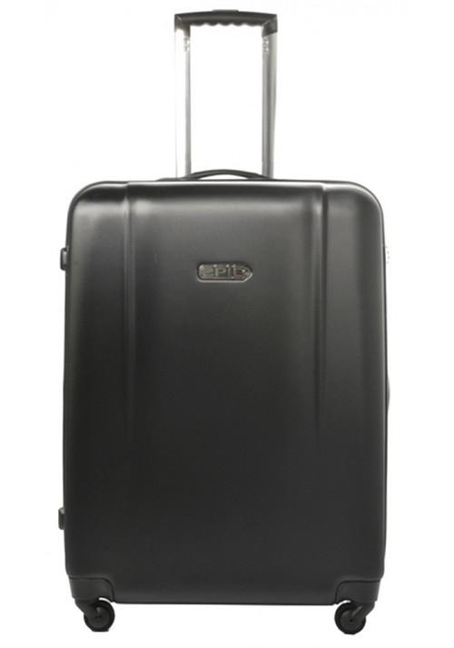 Темный чемодан с колесами Epic POP 4X IV M Black