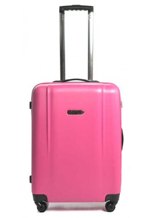 Женский чемодан с колесами Epic POP 4X IV M Pink Peacock