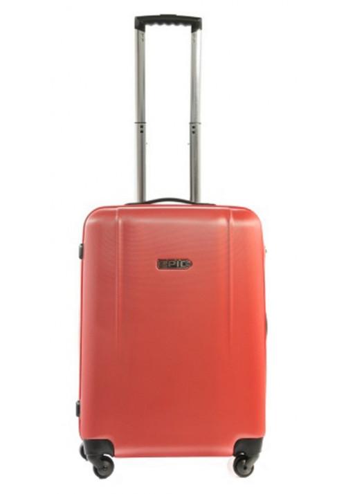 Красивый чемодан с колесами Epic POP 4X IV S Aurora Red