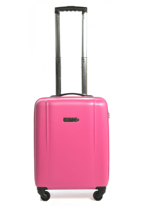 Гламурный чемодан с колесами Epic POP 4X IV S Pink Peacock