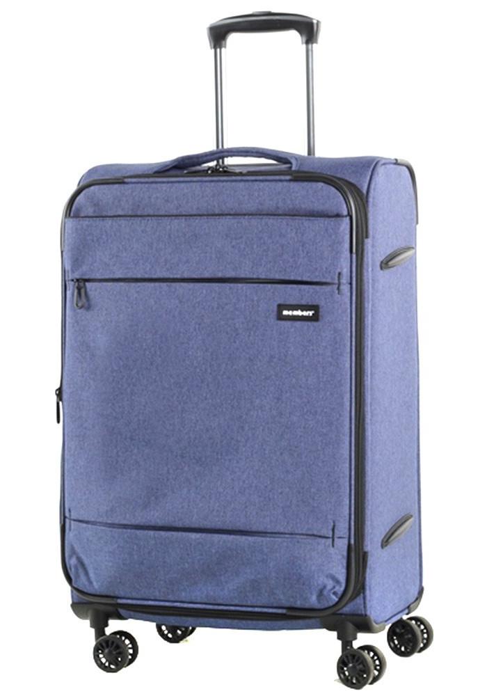 Текстильный чемодан на колесах Members Beaufort M Navy
