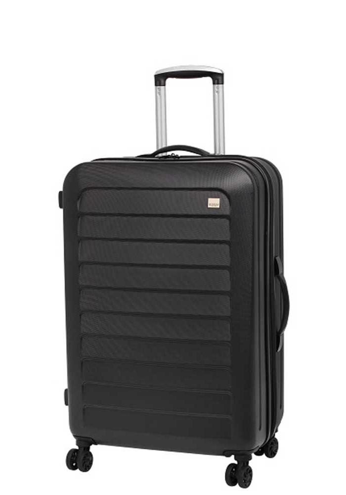Фото Прочный чемодан с колесами Members Chevron M Black