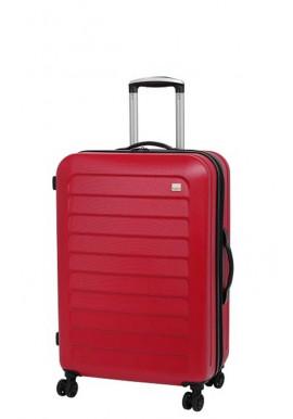 Чемодан с колесами красного цвета Members Chevron M Red
