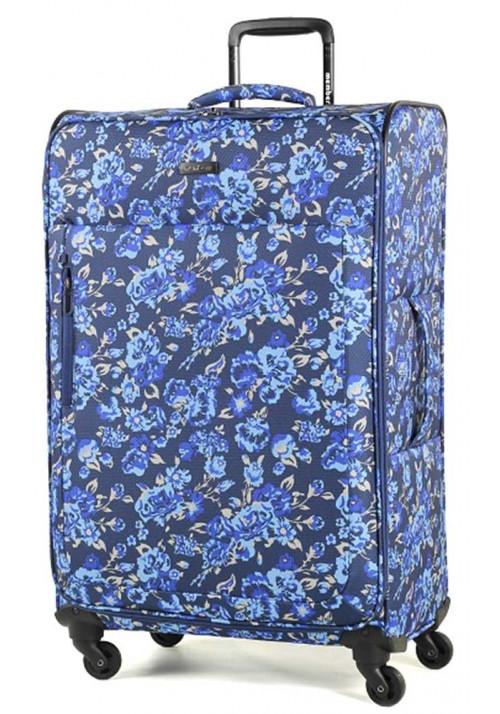Женский чемодан на колесах Members Vogue L Flower