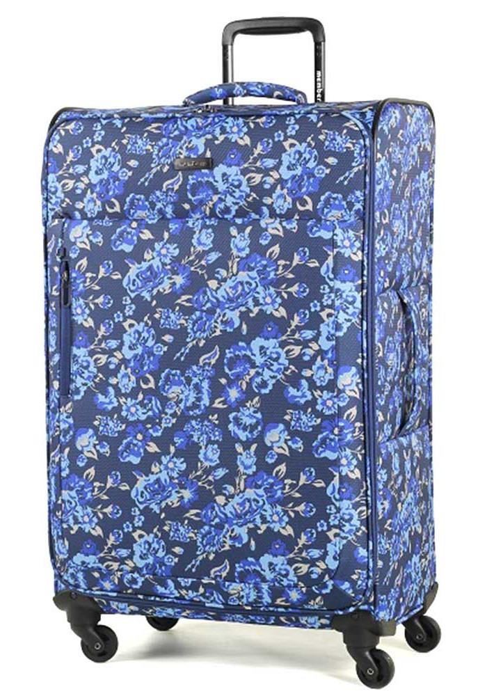 Фото Женский чемодан на колесах Members Vogue L Flower