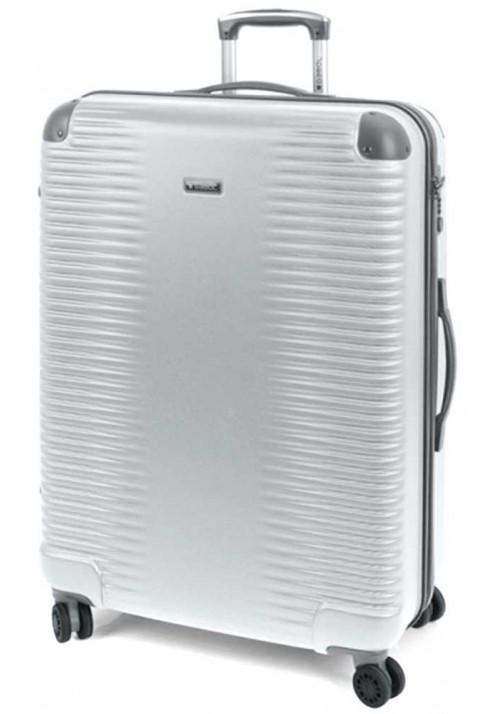 Стальной чемодан с колесами Gabol Balance L Silver