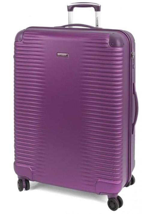 Фиолетовый чемодан с колесами Gabol Balance L Plum