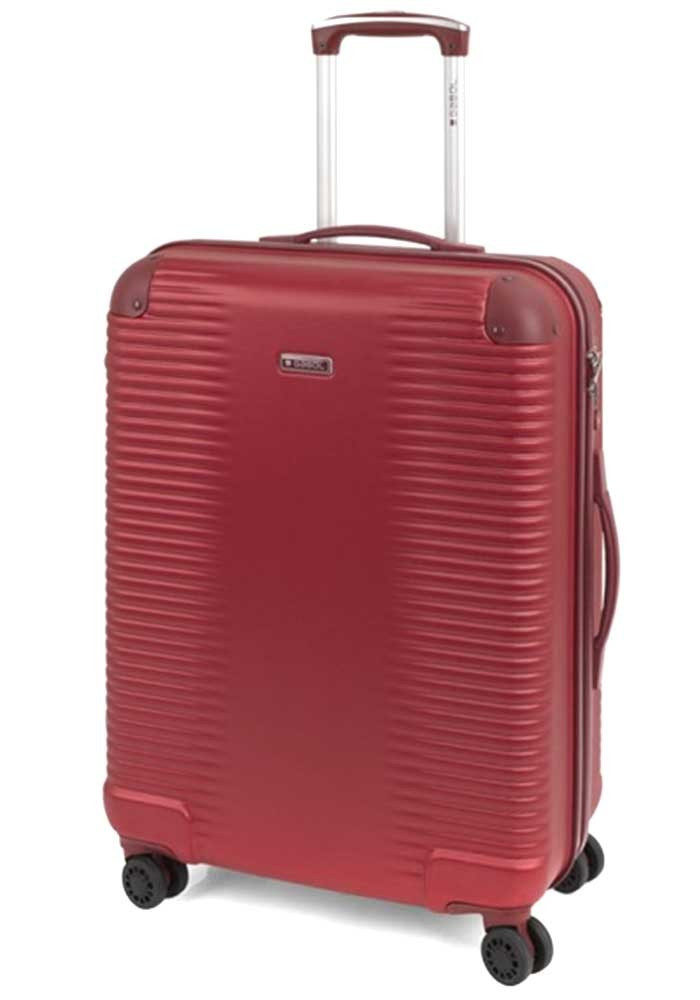 Чемодан с колесами красного цвета Gabol Balance M Red