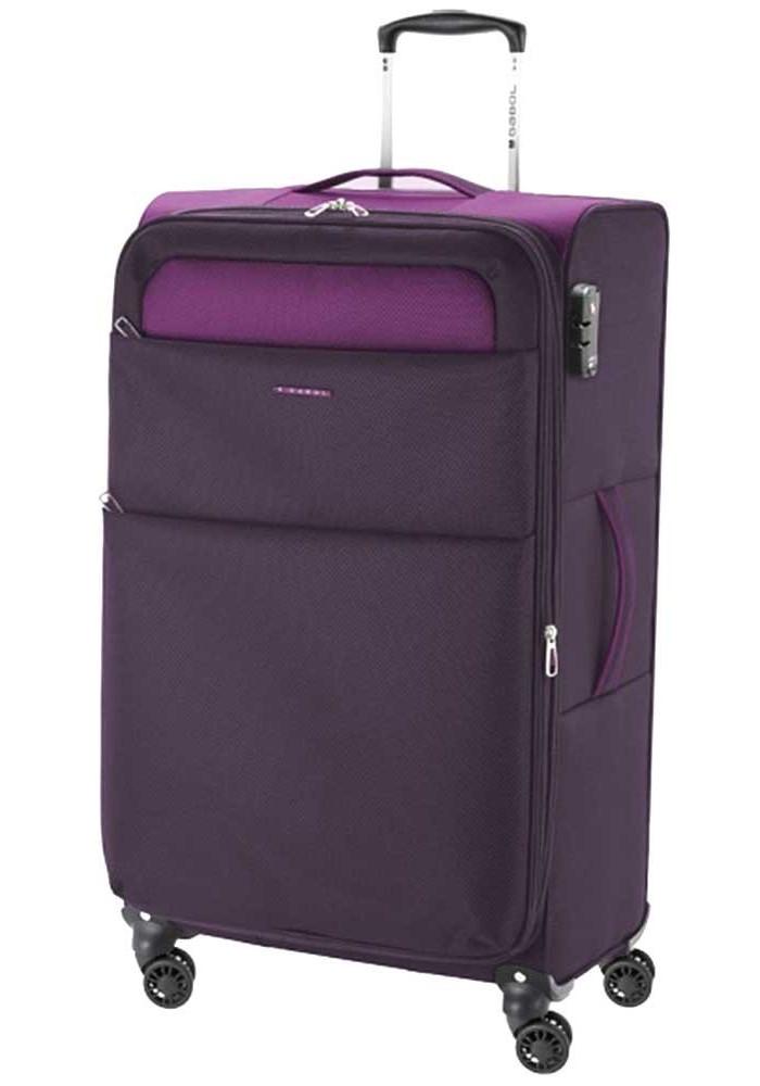 Фиолетовый чемодан на колесах Gabol Cloud L Purple
