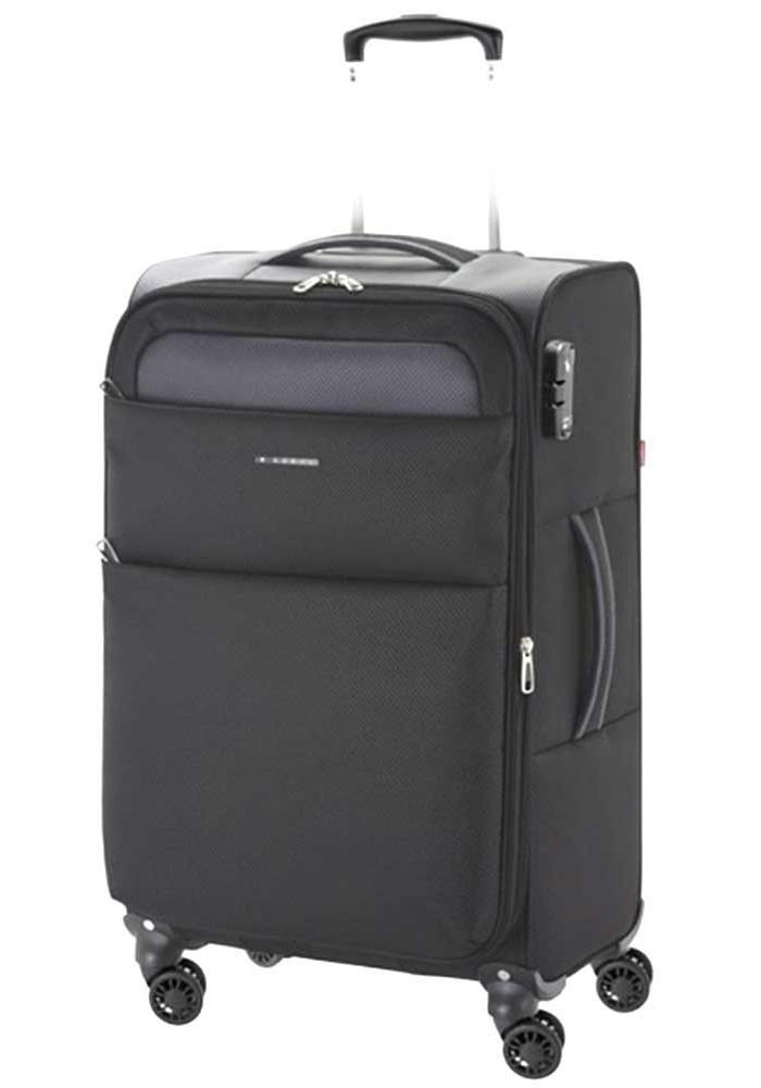 Текстильный чемодан на колесах Gabol Cloud M Black