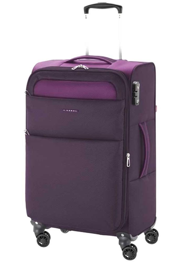 Тканевый чемодан на колесах Gabol Cloud M Purple