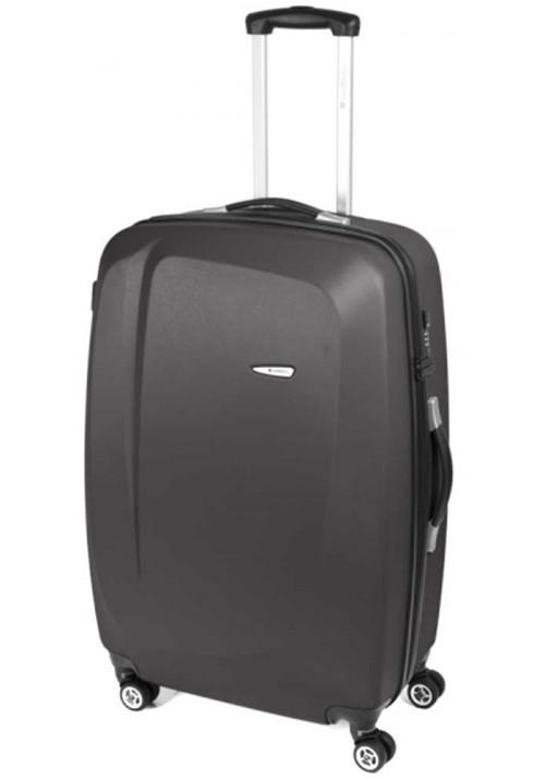 Прочный чемодан на колесах Gabol Line L Grey