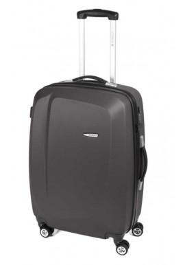 Фото Темно-серый чемодан на колесах Gabol Line M Grey