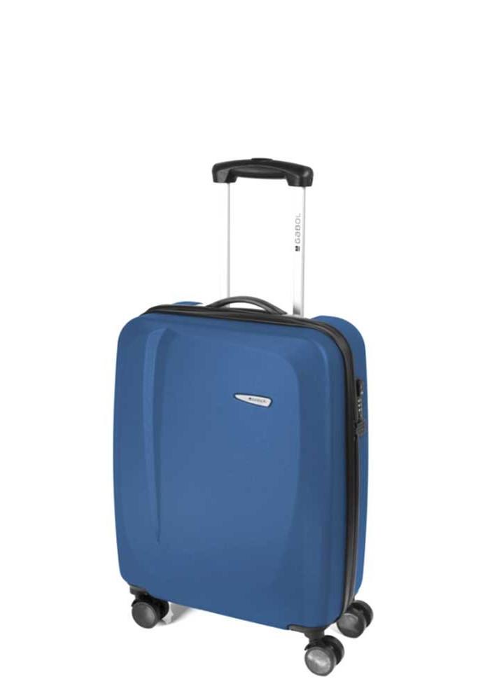 Чемодан для ручной клади с колесами Gabol Line S Blue