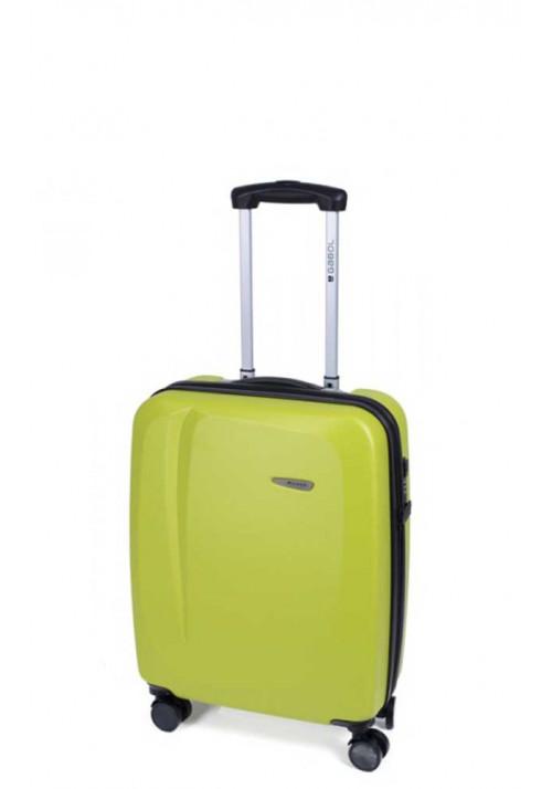Яркий чемодан на колесах Gabol Line S Pistachio
