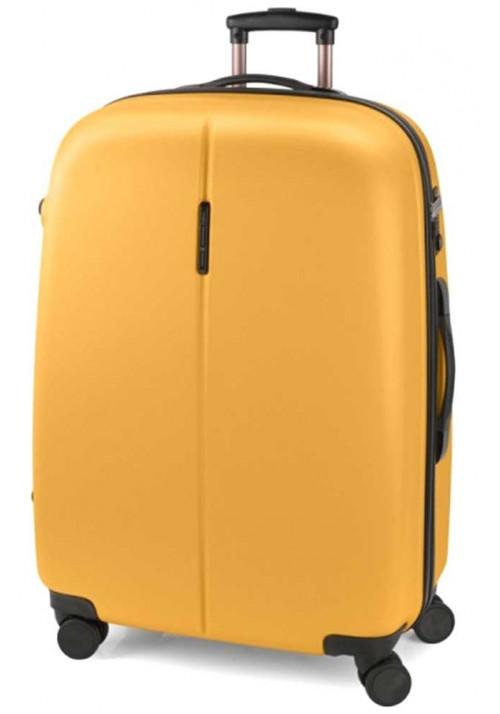 Желтый чемодан на колесах Gabol Paradise L Mustard