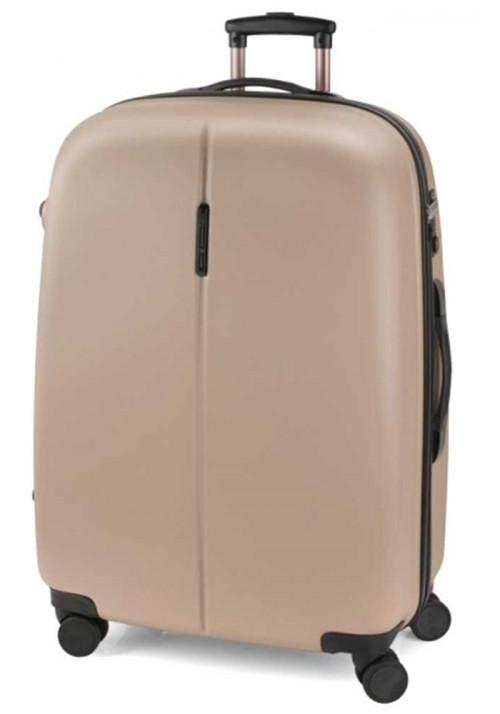 Бежевый чемодан на колесах Gabol Paradise L Beige