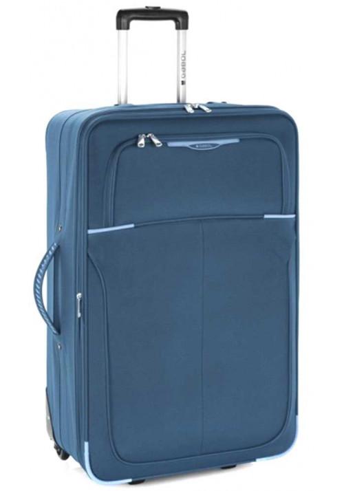 Синий чемодан на колесах Gabol Malasia L Blue