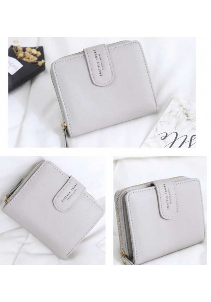 e57edf163f32 ... Компактный женский кошелек Amelie Forever Gray, фото №2 - интернет  магазин stunner.com ...
